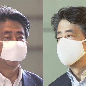 安倍総理、ついにアホノマスクをはずす
