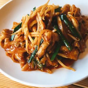 【食べ歩き】「中国旬菜 頭市」週替わりランチ23豚キムチ:松山市