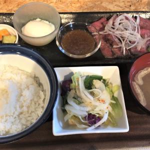 【食べ歩き】「肉と野菜のイタリアン食堂 LABONTA」ローストビーフ定食:松山市