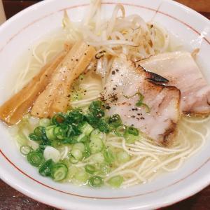 【ラーメン】「拉麺酒場 乙」 あっさり塩ラーメン:松山市