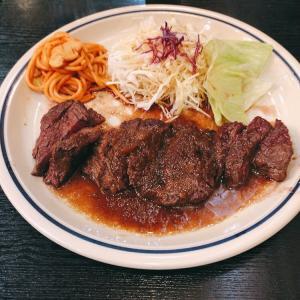【食べ歩き】「坊ちゃん」ボリュームステーキ:松山市