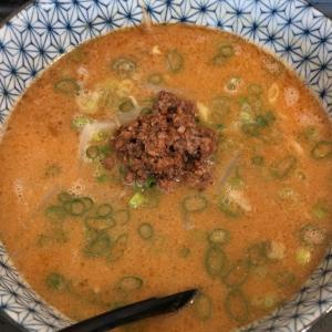 【担々麺】「萬来」タンタン麺(辛さ2倍):新居浜市