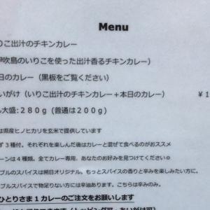 【食べ歩き】「朔日」いりこの出汁のチキンカレー:高松市