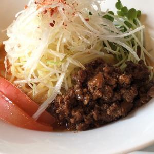 【担々麺】「中国旬菜 頭市」冷やし担々麺:松山市