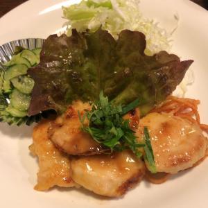 【食べ歩き】「青山カフェ フィール二番町店」チキンの梅ソース焼き:松山市