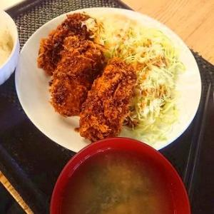 小田保 カキフライ定食
