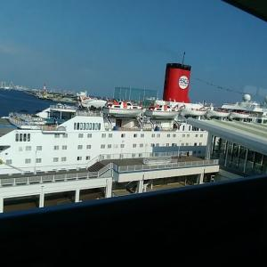 世界一周の客船 ピースボード オーシャンドリーム号見学
