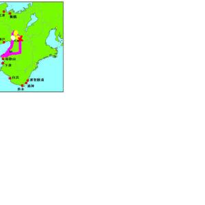 2019年5月8日に視た夢。 「大阪」と「京都」の府境いでの地震 「震度5弱」