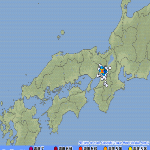 2019年5月8日の夢記事を参考。 「京都」「大阪」府境いに注意・警戒で