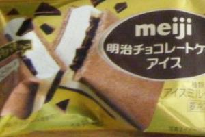 明治チョコレートケーキアイス 感想