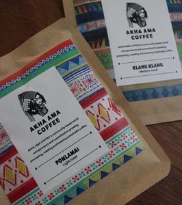 アカ族のコーヒー