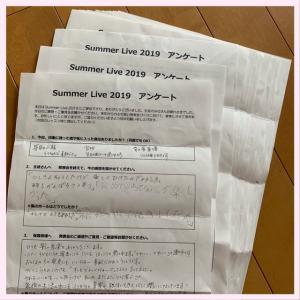Summer Live 2019 アンケートより