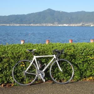 1ヵ月半ぶりの自転車
