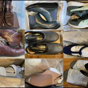 靴磨き、楽しいのに、どうしてなかなかやらないんだろ(;^_^A