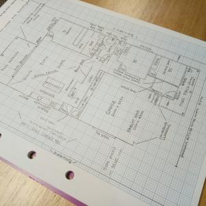 オーストラリアで家を建てる ~間取り図~