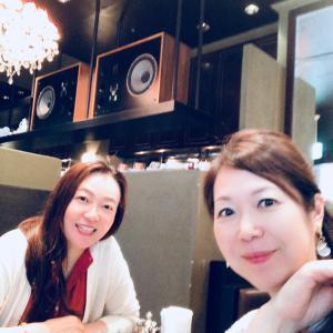 友人と久しぶりのランチ&カフェ@恵比寿
