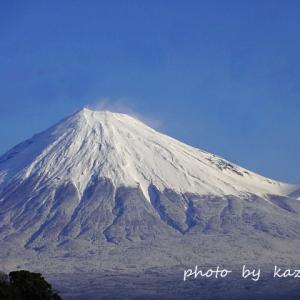 今朝の富士山♪