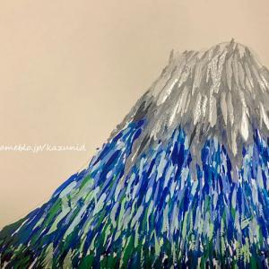 富士山の絵♪