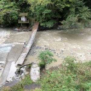 河川の状況と道路通行止め情報