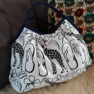 アフリカンなバッグ作成