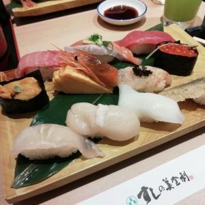 久しぶりの美登利寿司