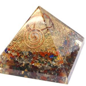 【No.011】オルゴナイト ピラミッド ヒマラヤ水晶マカバ