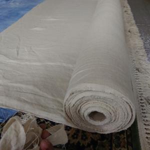 ヘンプ100パーセント平織りダブル巾入荷しました!