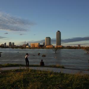荒川の水が、隅田川に流れていたら、、、(>_<)