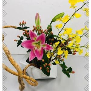迎え花に誘われて