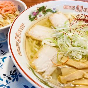 ノンオイル「蜆ネギ潮」喜多方ラーメン『麺や こたなりん』