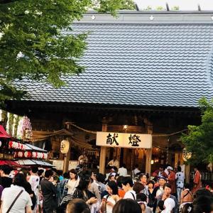 夏の想い出「北宮諏方神社大祭」
