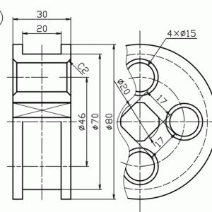 テクニカルイラスト技能検定2級の解説 その3