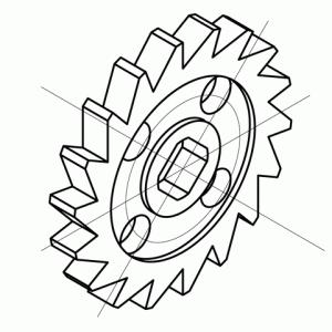 テクニカルイラスト技能検定2級の解説 その11