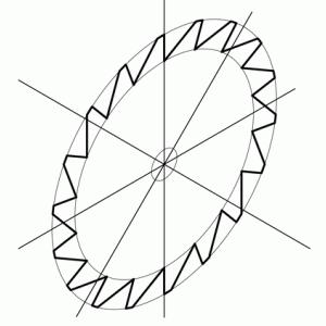 テクニカルイラスト技能検定2級の解説 その12