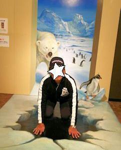 11/10☆熱海へ【熱海トリックアート迷宮館】②