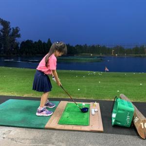 5歳 ゴルフスクール入会!