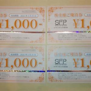 SFPホールディングス (3198)から株主優待が届きました。