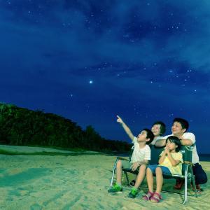 先日の「星空浴と宙さんぽ」