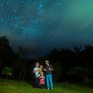 本島北部の圧倒的な星空