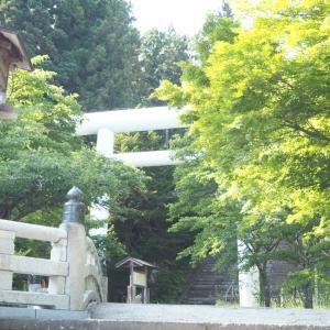 夏祓✩.*˚土津神社