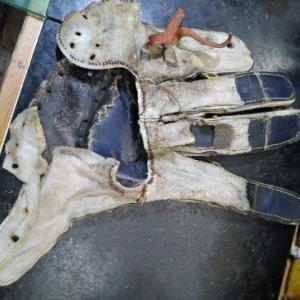 お持ち込みの特殊修理!中袋と上袋の修理 その2
