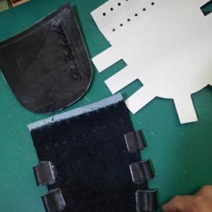 刺繍入りフラットウエブの製作!KSN-6PSMを投手用へ♪