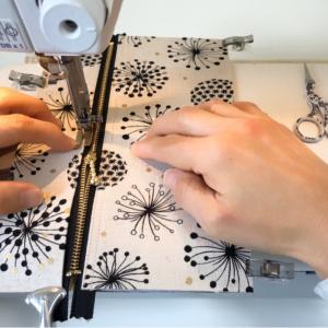 ミシンで縫っているところの撮影ってどうやってるの?