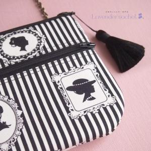 ロマンティックなお財布ショルダーバッグできました!