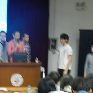 中国の大学にて~学生たちの生き生きした姿と6月そして夏休み目前動向は~