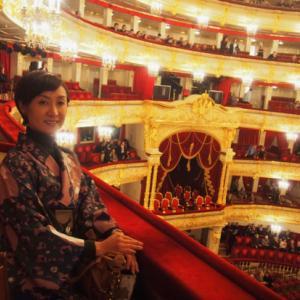 着物でロシア旅行(3) ボリショイ劇場でバレエ