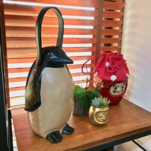 コシェルドゥのペンギンバッグ、アトリエ&ネットショップに新入荷!