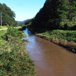 八郷盆地と柿岡湖