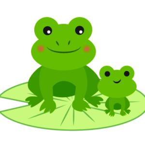 日本語と縄文語(6) カエル