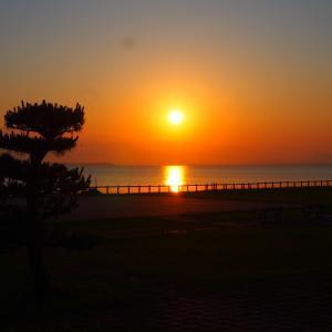 天王崎の夕景